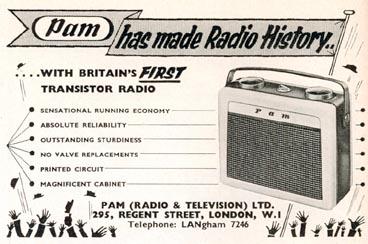 pam transistor