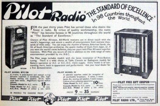 pilot radio advert