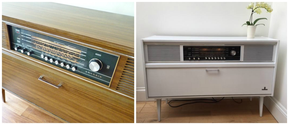 radiogram collage